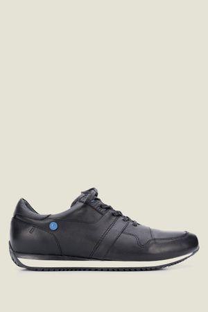 Sneakers deportivos de cuero moda
