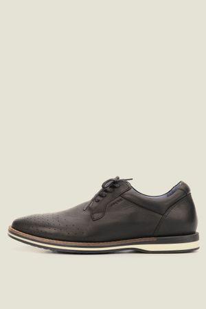 Zapatos storia de cuero con cordón