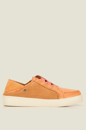 Sneakers delta de cuero