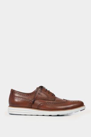 Zapatos angarano de cuero con cordón