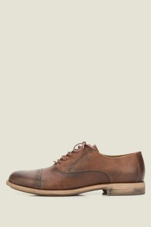 Zapatos veletto de cuero con cordón
