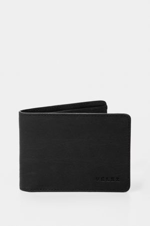 Billetera de cuero rústico