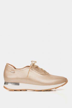 Zapatos cordón de cuero suela deportiva