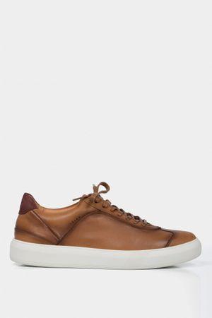 Sneakers casuales vena de cuero para hombre vintage