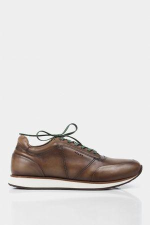 Sneakers casual zack de cuero para hombre vintage