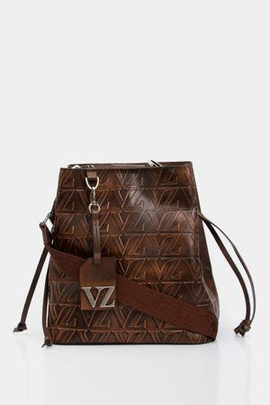 Shopping sakai de cuero para mujer monograma VZ