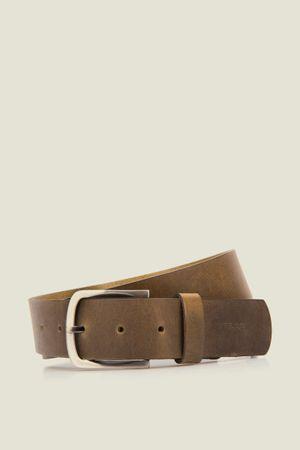 Cinturón unifaz Knowler de cuero