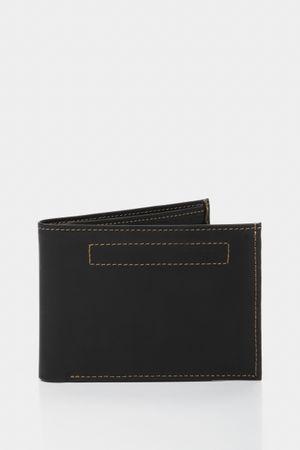 Billetera de cuero costuras